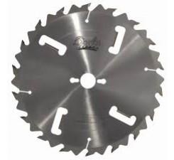 Panza circulara multilama placata CMS (4 geluitori) 350x3,5/2,5x70 Z=24+4